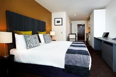 Quadrant Hotel typical bedroom