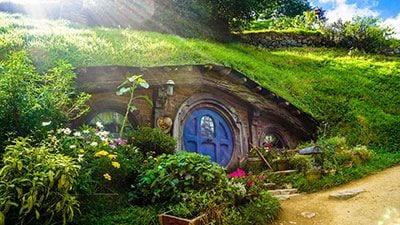 Bilbo's house in Hobbiton, Matamata