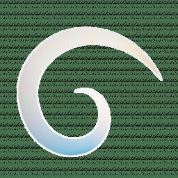 "NZG_Temporary Logo ""Cosmic Koru"""