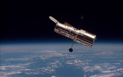 How did the Hubble Space Telescope open our eyes to the first galaxies of the universe?