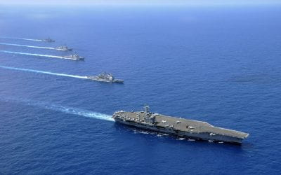 US and China are both raising the military stakes in the South China Sea