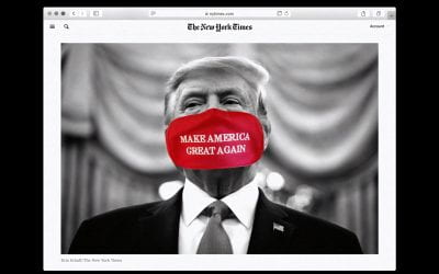 How did Trump win the online disinformation war?
