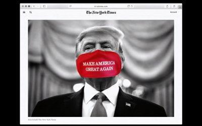 How did Trump win the online disinformation war?
