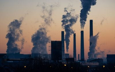 What is the impact of air pollution on life expectancy?
