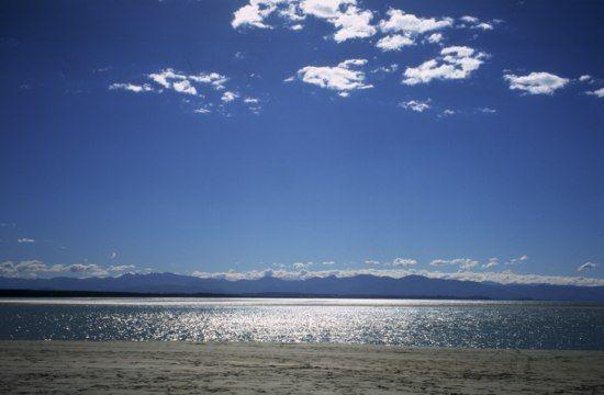 ocean view from Nelson, NZ