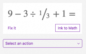 Ink to Math