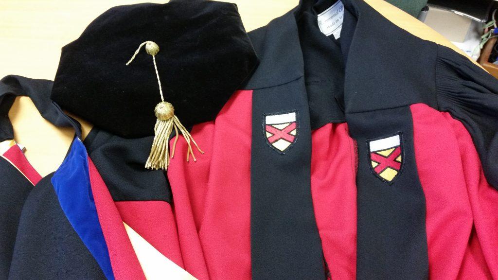 Graduation robes