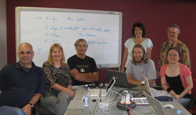 MAONZE Participants at an MPAi workshop Feb 2017