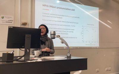 MPAi presented at Māori speech technology hui