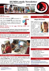 HUMBA Newsletter 12
