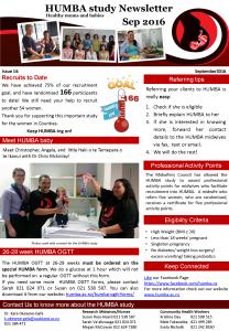 HUMBA Newsletter 14