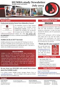 HUMBA Newsletter 2