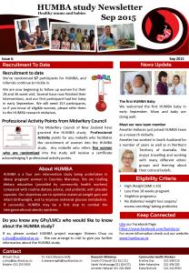 HUMBA Newsletter 4