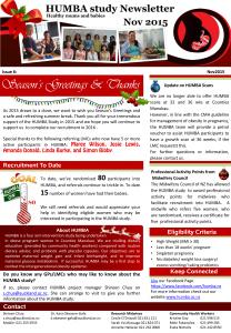HUMBA Newsletter 6