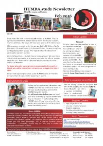 HUMBA Newsletter 8