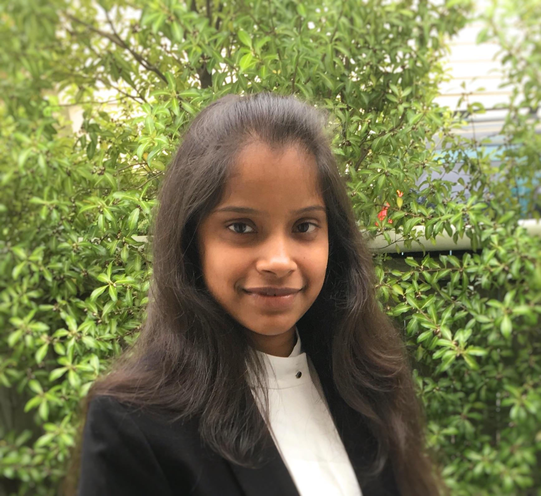 MInfoTech graduate Amulya Jagadeesh