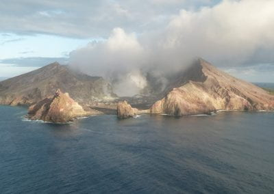 Develop short-term eruption warning systems for Whakaari and other volcanoes