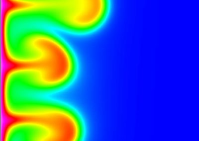 The complex unsteady flow within a fluid-filled annulus and its transition to turbulence