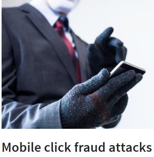 Mobile Click Fraud Attack (MCFA)