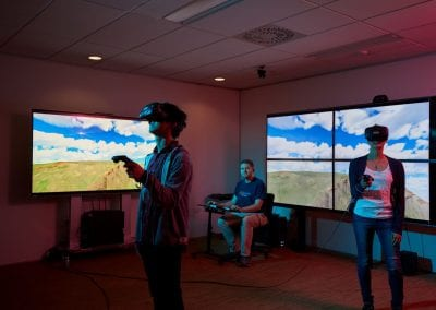Presence: distributed mixed reality learning environment