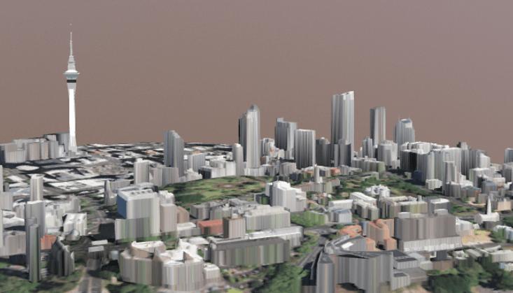 Visualising the University campus in 3D