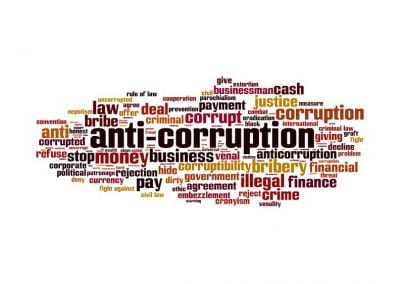 Anti-corruption regulations for promoting socially responsible practices