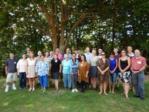 Group photo on Waiheke