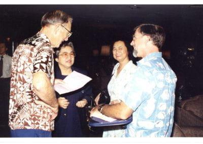 IPFC4 Jack Randall, Supap Monkalprasit, Helen Randall and David Greenfield