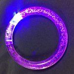 flashing rainbow loop bracelet