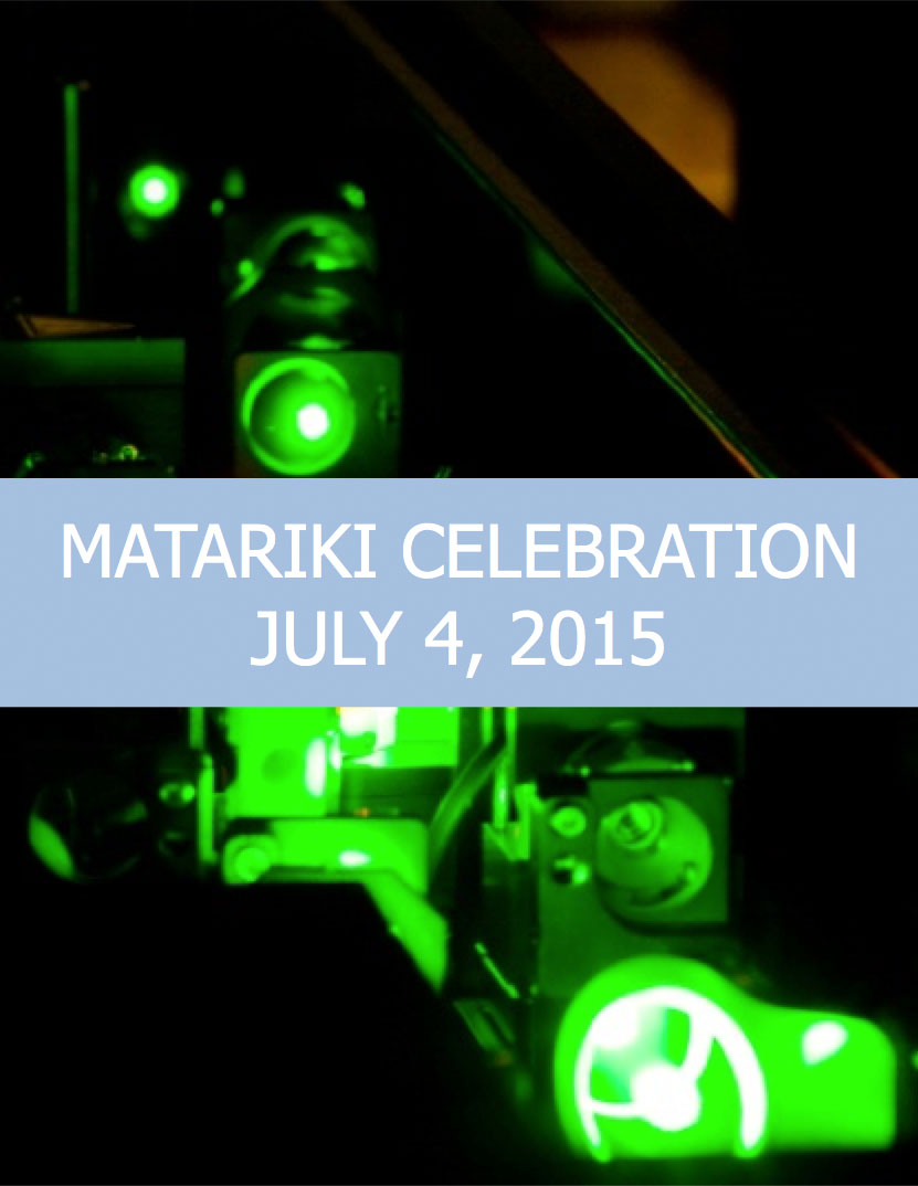 Matariki Celebration - July 4th, 2015