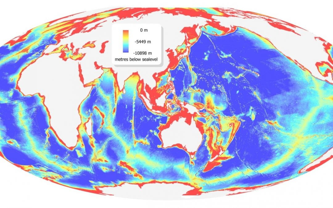 The Ocean Floor Is Less Well Mapped Than The Surface Of Other