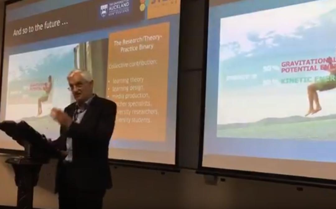 Public lecture by Professor Graeme Aitken