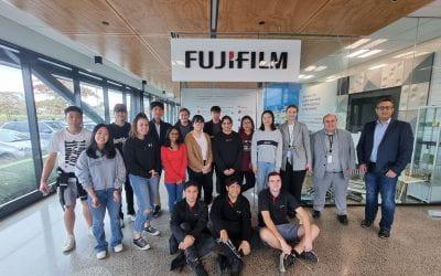 Class visits Fuji Film