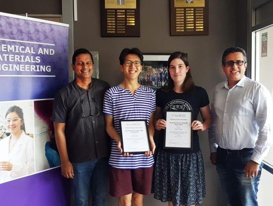 IChemE Project Winners