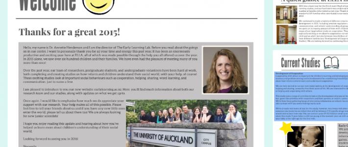 Latest newsletter – ELLA in 2015