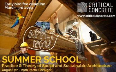 Critical Concrete – Summer school 2019
