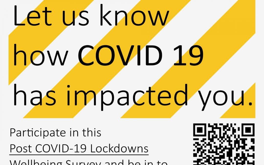 Post COVID-19 Lockdowns Wellbeing Survey