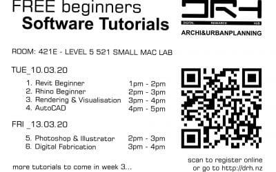 DRH Beginner Workshops