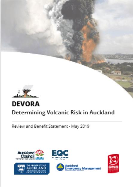 DEVORA Determining Volcanic Risk in Auckland Cover