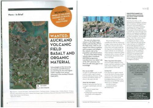 NZ Geomechanics News Article  Cover