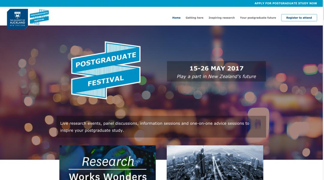 Postgraduate Festival