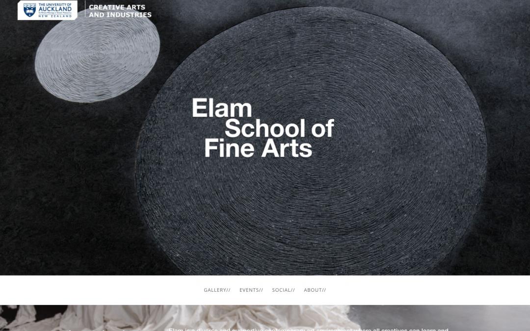 Elam School of Fine Arts
