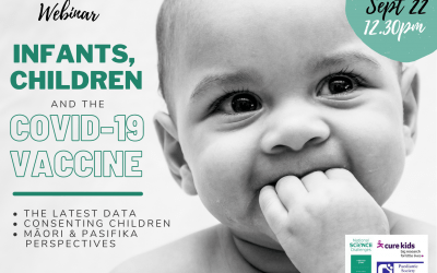 UPCOMING WEBINAR: Infants, children and the Covid-19 Vaccine