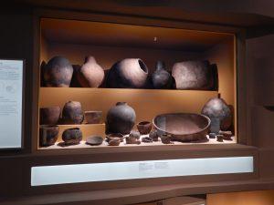 Figure 2: The Merimda ceramics in the Prehistoric section of the Världskulturmuseerna Medelhavet