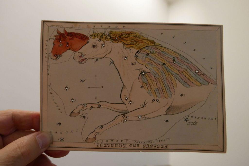 Photo of Pegasus card