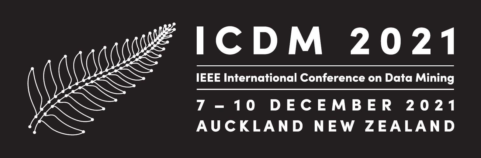 IEEE International Conference on Data Mining 2021 (ICDM2021)