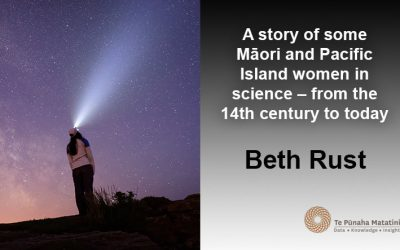A story of some Māori and Pacific Island women in science – from the 14th century to today