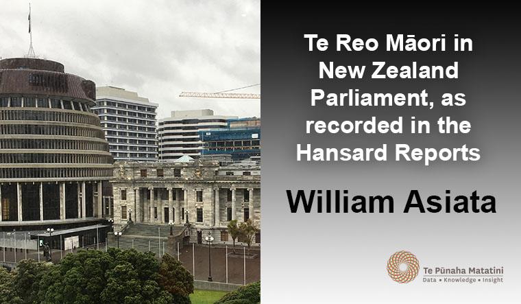 Te Reo Māori in New Zealand Parliament