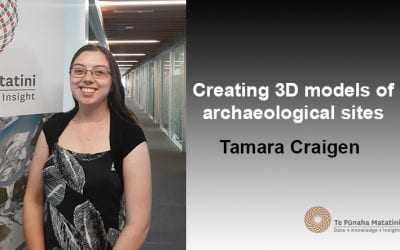 Creating 3D models of archaeological sites