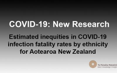 Estimated inequities in COVID-19 infection fatality rates by ethnicity for New Zealand